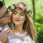 Zimowy plener ślubny w Pilźnie 1
